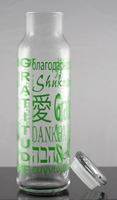 22 oz Glass Bottle - Green