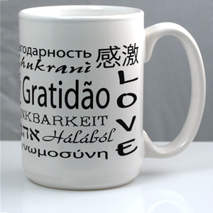15oz Ceramic Mug White